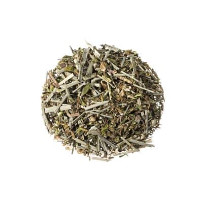 Hanf-Zitronengras-Tee