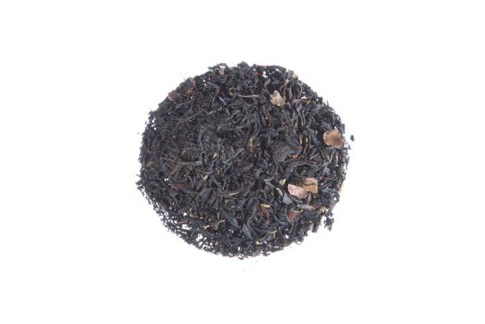 Schwarzer Tee mit Kakao Besos de Cacao