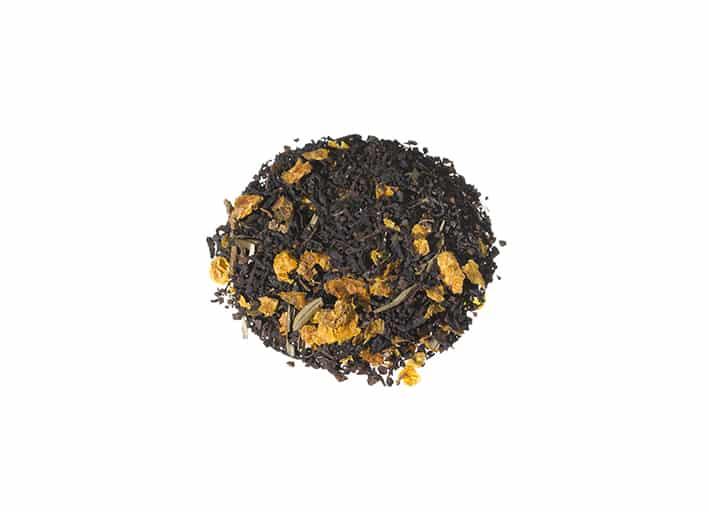 Bio Schwarzer Tee Ostfriesischer Sanddorn-Sahne