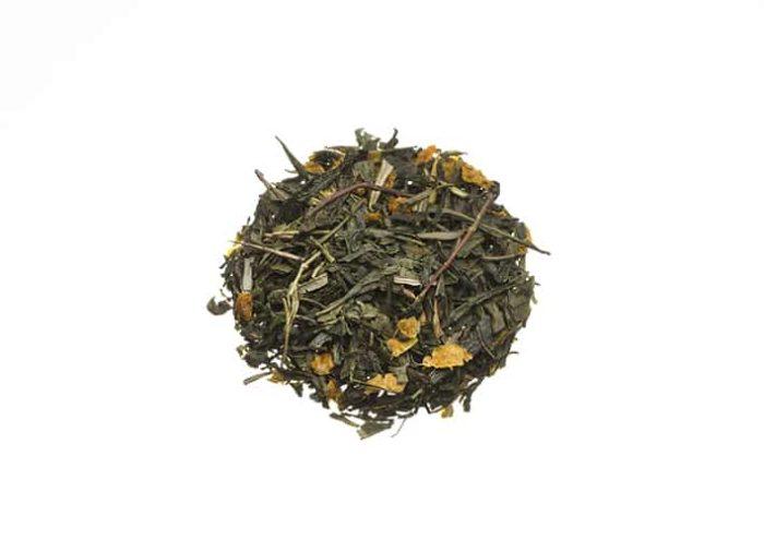 Bio Grüner Tee mit Sanddorn