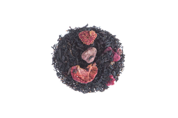 Schwarzer Tee Beerenpracht