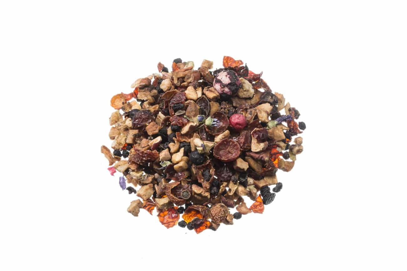 Bio Früchtetee Wildfrüchtee lose Nicht aromatisierte Frucht-Tee-Mischung 86043