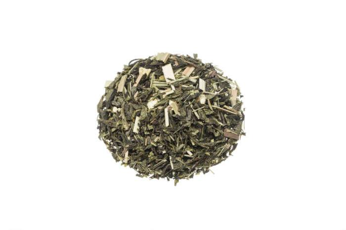 Bio Grüner Tee Lemon lose Grünteemischung mit Lemongras und Zitronenschalen 82544S