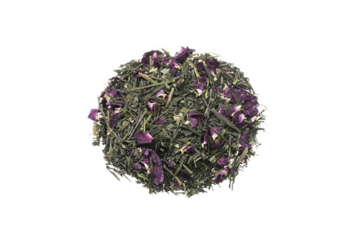 Bio Grüner Tee Morimoto Sencha Rosa angenehme Frische und leichte Süße JP22R1S
