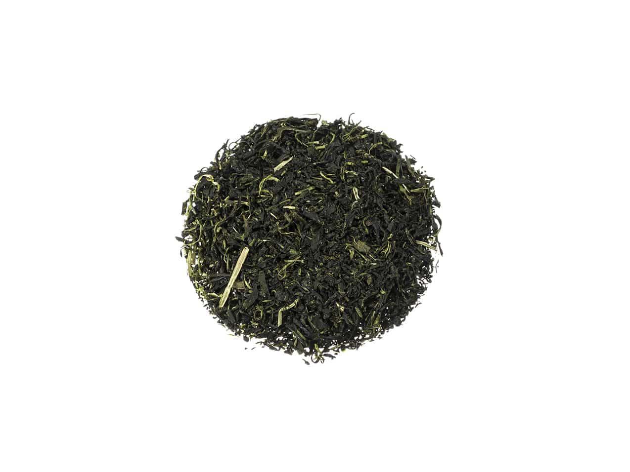 Bio Grüner Tee Morimoto Tamamori vollmundig und erfrischend mit feinen Noten von süßen Früchten lose JG132TM-1KS100