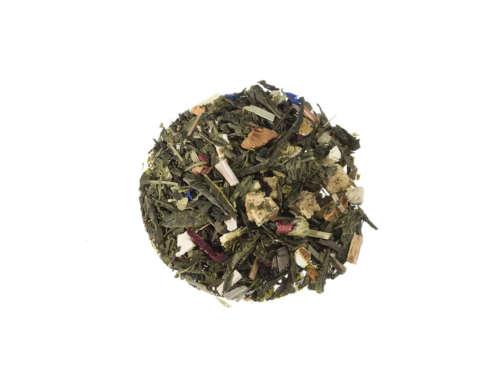 Bio Grüner Tee Sonniges Gemüt natürlich aromatisierte Grünteemischung lose 748S