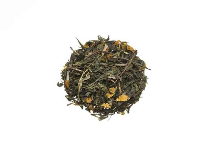 Bio Grüner Tee mit Sanddorn lose 746S100