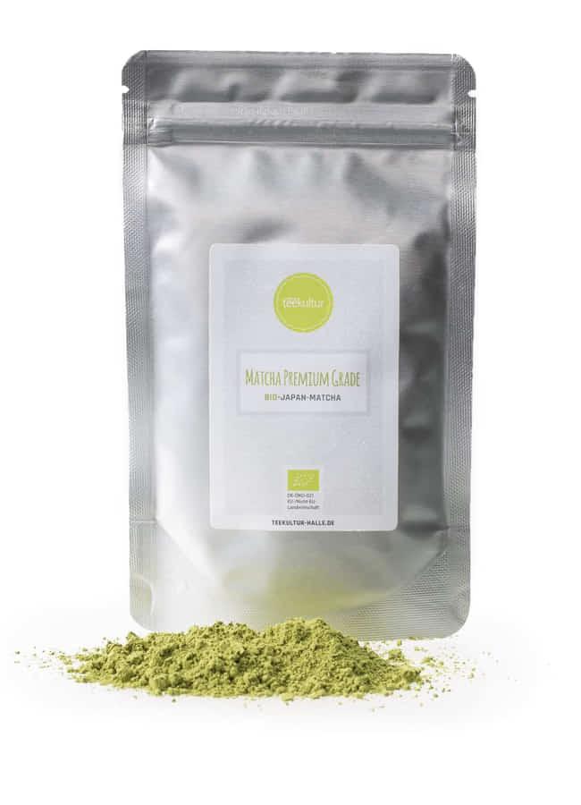 Bio Matcha Tee Premium Grade lose Verpackung JG1Y2MB50