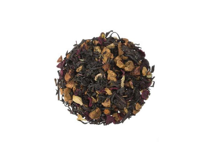 Bio Schwarzer Tee Kirschliebe natürlich aromatisierte Schwarteemischung lose 21855S100