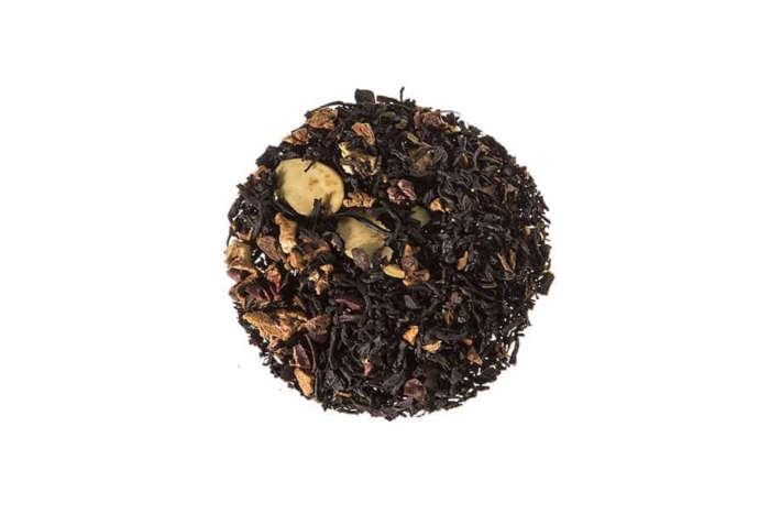 Bio Schwarzer Tee Schokotraum eine natürlich aromatisierte Schwarzteemischung mit einem cremig schokoladigen Geschmack lose 21858S100
