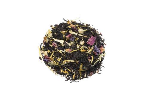 Bio Schwarzer Tee Sonne Andalusiens Mischung aus kräftigen Schwarzen Tee der auf kräftigen Maracuja-Geschmack trifft lose 84212S100
