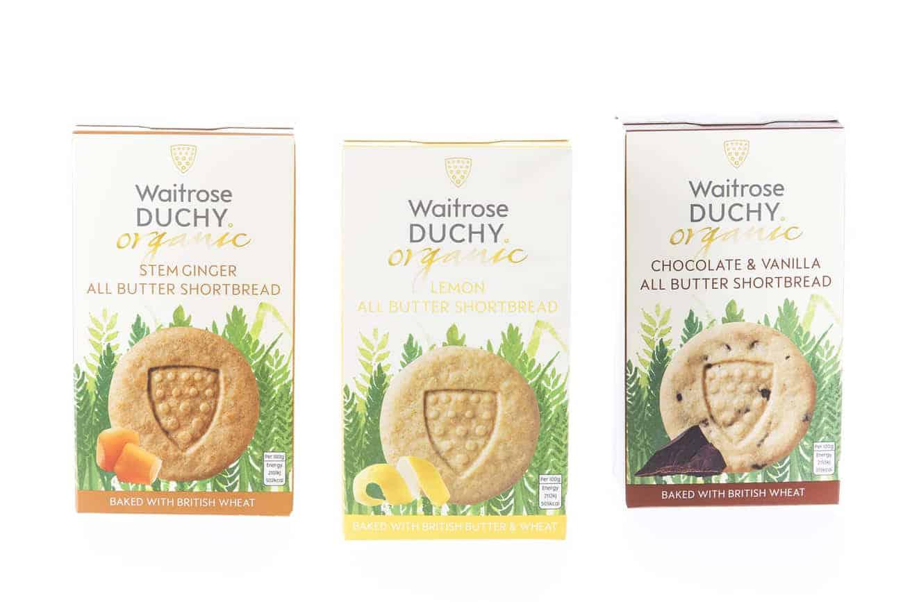Bio Waitrose Duchy Shortbread Premium Teegebäck