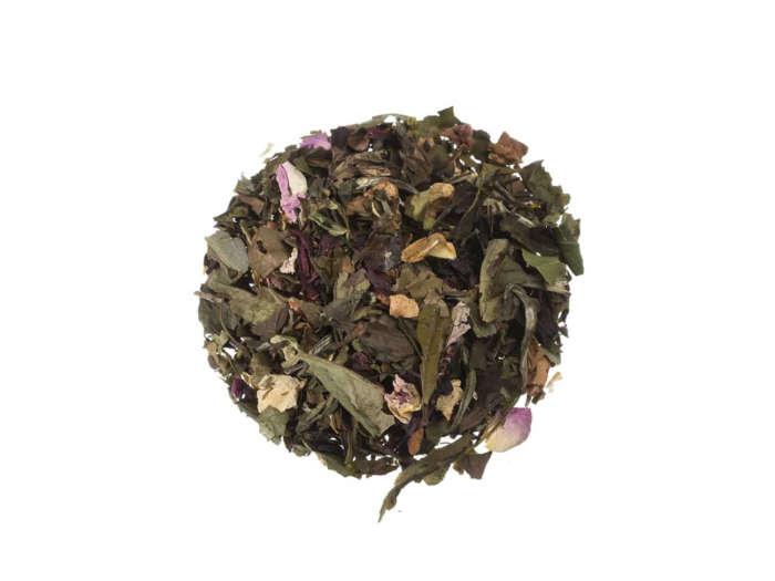 Bio Weißer Tee Erdbeer-Hibiskusblüte lose 21871S100