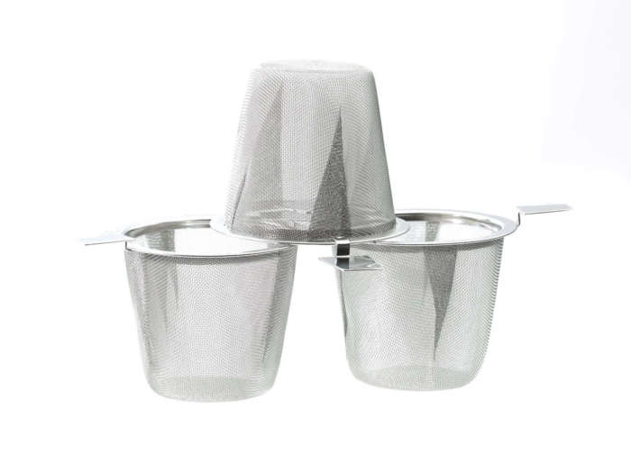 Edelstahlfilter für Tee Durchmesser fuer die meisten Becher und Kannen-41526