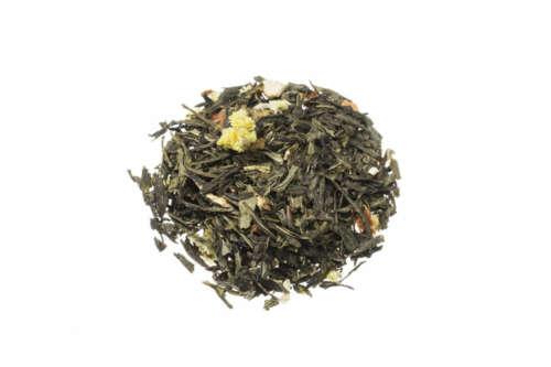 Grüner Tee Mango-Django Grüntee mit fruchtigen Mango Maracuja Orangen Aromen lose 8246S100
