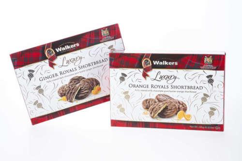 Luxury Royals Shortbread verfeinert mit edler Schokolade 4641-4642